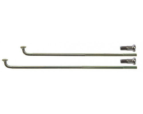 Спица 2,0*292мм 5-283520 28″ серебристая нержавейка сталь с латунным ниппелем CNSPOKE