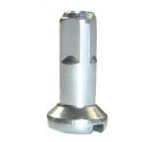Ниппеля 5-284593 для спиц 14G (2мм) сталь оцинкованный 12мм (50шт в пакете) серебристая CNSPOKE