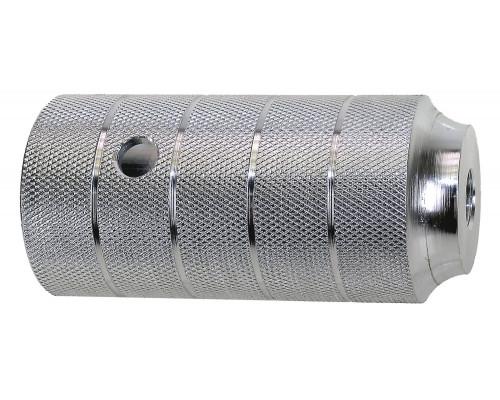 Пеги 5-329984 на ось BMX 50х110 алюминий резьба М14х1.0 серебристый