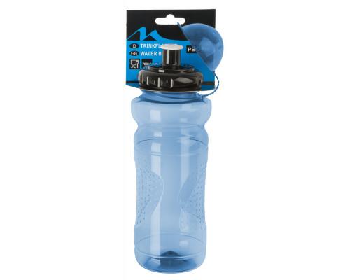 Фляга 5-340304 пластиковая 0,7л с крышкой прозрачно-голубая M-WAVE