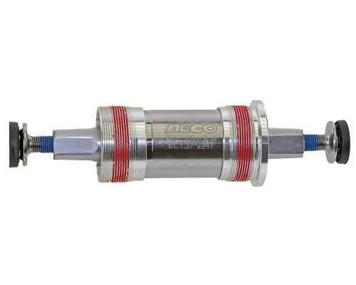 Каретка-картридж 5-359263 корпус 68мм алюминиевые чашки, герметичные подшипники 115/23мм вал Cr-Mo с фиксацией резбы NECO