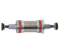 Каретка-картридж 5-359265 корпус 68мм алюминиевые чашки, герметичные подшипники 122.5/28.5мм вал Cr-Mo с фиксацией резьбы NECO