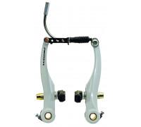 Тормоза 5-360831 V-брейк передний+задний 110мм алюминиевый белые PROMAX