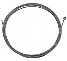 Тросик 5-374042 переключателя, оцинкованный, ниппель 4х4мм 19 жил 1,2х2100мм серебристый