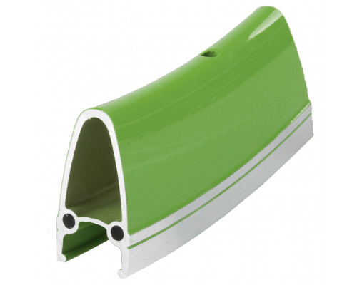 Обод .28″ 5-381045 двойной GBS (662х22/15,5x40 32 отверстия) для SINGLESPEED/FIXIE зеленый R4022 M-WAVE