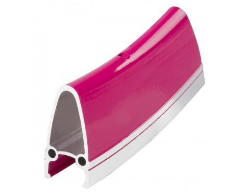 Обод .28″ 5-381048 двойной GBS (662х22/15,5x40 32 отверстия) для SINGLESPEED/FIXIE розовый R4022 M-WAVE
