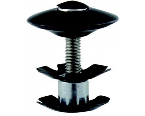 Паук 5-390561 диаметр 1 1/8″ с болтом для AHEAD-систем черный M-WAVE