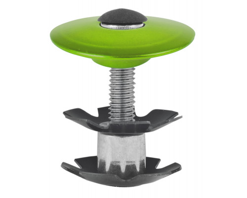 Паук 5-390575 диаметр 1 1/8″ с болтом для AHEAD-систем анодированный зеленый M-WAVE