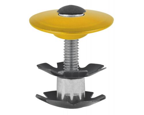 Паук 5-390576 диаметр 1 1/8″ с болтом для AHEAD-систем анодированный золотистый M-WAVE