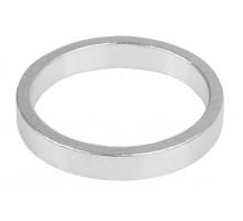 Рулевой спейсер 5-390641 (проставочное кольцо) спорт.1 1/8″ алюминиевый 6шт по 5мм анодированный серебристый M-WAVE