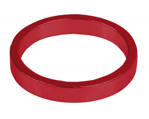 Рулевой спейсер 5-390643 (проставочное кольцо) спорт.1 1/8″ алюминиевый 6шт по 5мм анодированный красный M-WAVE