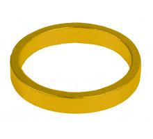 Рулевой спейсер 5-390646 (проставочное кольцо) спорт.1 1/8″ алюминиевый 6шт по 5мм анодированный золотистый M-WAVE