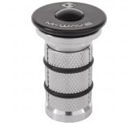 Паук 5-390890 диаметр 1 1/8″ с болтом многоразовый для AHEAD-систем и карбоновых вилок M-WAVE