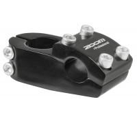 Вынос внешний 5-404150 BMX нерегулируемый 1 1/8″, для руля 22,2мм алюминиевый MX-413-8(ISO-M) черный ZOOM