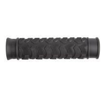 Ручки 5-410241 на руль резиновыес антискользящей структурой 120мм черные (на блистере) CLOUD TIRE 2 M-WAVE