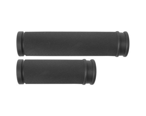 Ручки 5-410263 на руль резиновые 120+90мм анатомический CLOUD SLICK (для грип-шифтеров) черные M-WAVE