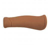 Ручки 5-410521 на руль резиновые эгономичные антискользящие 130мм коричневые CLOUD BASE 2 M-WAVE