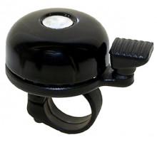 Звонок 5-420035 сталь мини цвета в ассортитенте серебр, черный, красный, синий, желтый M-WAVE