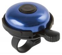 Звонок 5-420154 алюминиевый /пластик D=53мм черно-синий (на блистере) M-WAVE