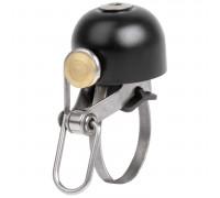 Звонок 5-420451 стальной очень долгий и громкий 100Дб D=30мм черный (на блистере) M-WAVE
