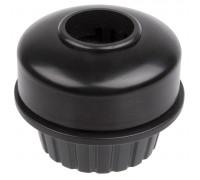 Звонок 5-420600 сталь поворотный вокруг руля 22,2мм черный