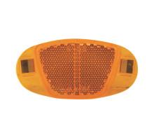 Светоотражающие 5-466603 катафоты в спицы 60мм крепления из нержавейки, оранжевые VENTURA