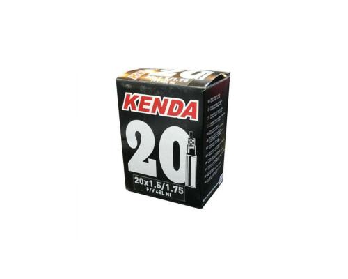 Камера 20″ спорт ниппель 48мм 5-511241 ″узкая″ 1 1/8″ (28-451) KENDA