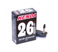 Камера 26″ спорт ниппель 5-511296 (5-516328) ″узкая″ 1,00-1,5 (26/40-559) KENDA