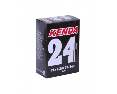 Камера 24″ авто ниппель 5-511341 (5-516316) ″узкая″ 1 3/8″ (32/40-540/541) для советских вело-инвалидных колясок KENDA