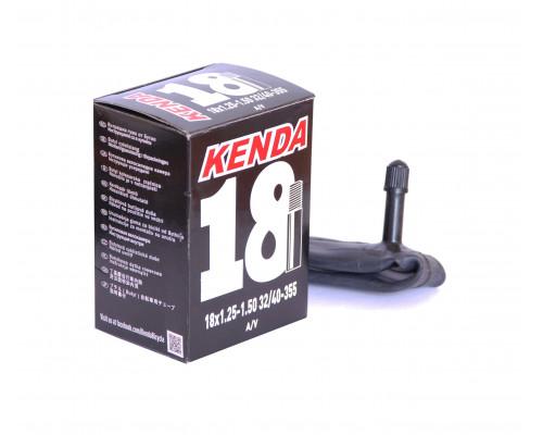 Камера 18″ авто ниппель 5-511407 ″узкая″ 1.25-1.50 (32/40-355) для складных вело KENDA