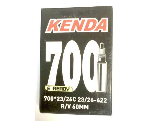 Камера 28″/700 спорт ниппель 60мм 5-511491 (5-516491) ″узкая″ (700х23/26C) KENDA