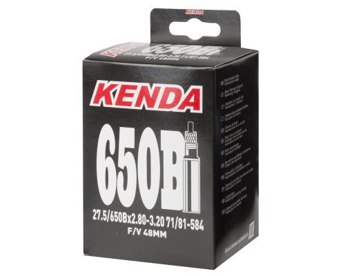 Камера 27,5″+ спорт ниппель 48мм 5-514408 широкая 2,80-3,20 (71/81-584) KENDA