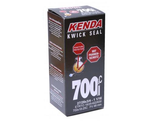 Камера антипрокольная с герметиком 28″ 5-518923 (5-516348) спорт ниппель 48мм узкая (700х18/25С) KENDA