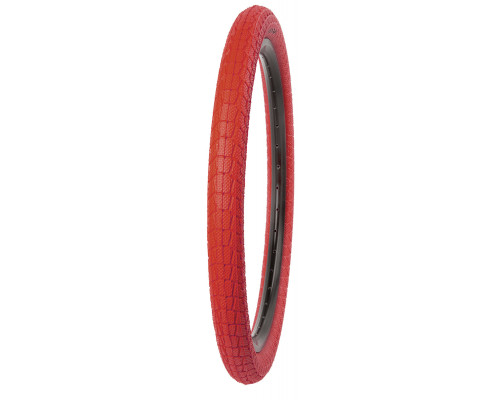 Покрышка 20″х1.95 5-527214 (5-529603) (50-406) K907 KRACKPOT низкий красная KENDA