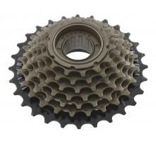 Кассета трещотка 5 скоростей 5-700173 5х14-28 черно-коричневая HG SHIMANO-совместимая VENTURA