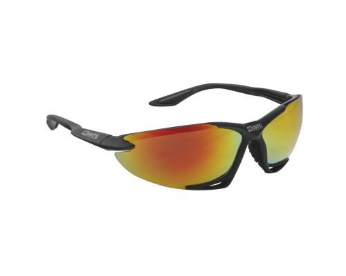 Очки 5-710010 солнцезащитные +чехол+прозр/оранж/желт линзы иридий черная оправа GRILLAMID-TR90 MIGHTY