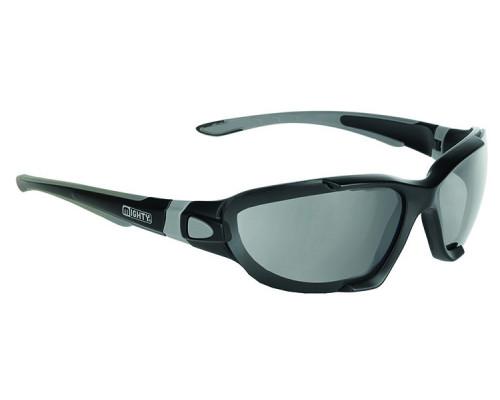 Очки 5-710016 солнцезащитные /зимние сменные оправа (4цвета)+ремеш.+чехол+прозр./красн./желт./син. линзы MIGHTY