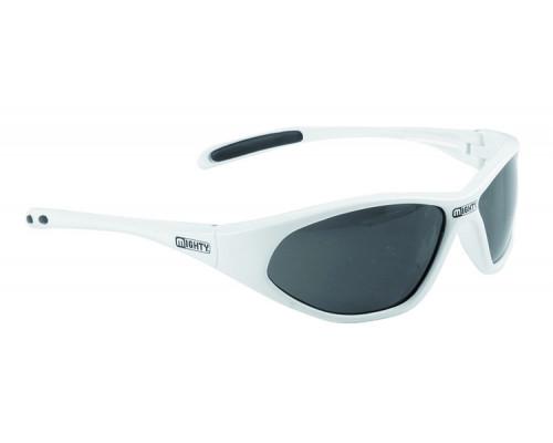 Очки 5-710031 солнцезащитные детские белая оправа темные линзы МIGHTY