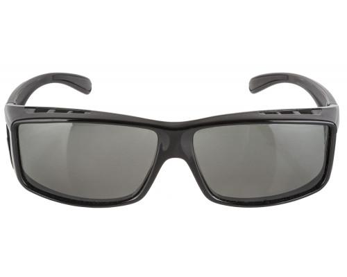 Очки 5-710903 солнцезащитные ПОЛЯРИЗАЦИОННЫЕ, затемненные, вентилируемая поверхность очков с диоптриями черные RAYON FIT MIGHTY