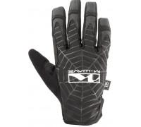 Перчатки 5-719865 длинные пальцы гель/эластан дышащие д/сенсора антискользящие размер M черные SPIDERWEB M-WAVE