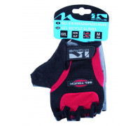 Перчатки 5-719937 гель/лайкра дышащие антискользящие вставки размер размер XL цвета в ассортименте, с петельк. M-WAVE
