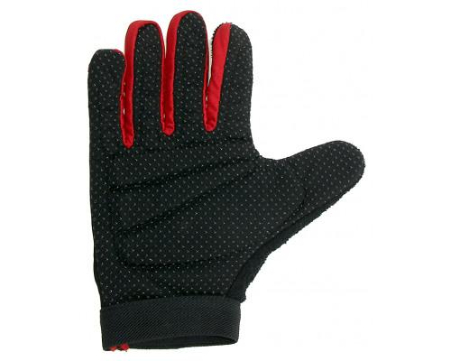 Перчатки 5-719952 длинные пальцы гель/лайкра дышащие антискользящие размер размер XL цвета в ассортименте, с петельками VENTURA