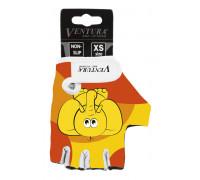 Перчатки 5-719983 детские лайкра антискользящие размер XS цвета в ассортименте, VENTURA