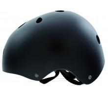 Шлем 5-731184 универс/ВМХ/FREESTYLE 11 отверстий,суперпрочный 54-58см матово-черный M-WAVE