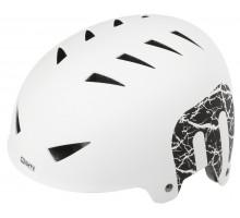 Шлем 5-731223 универс/ВМХ/FREESTYLE 14 отверстий, ABS-суперпрочный 60-63см белый матовый MIGHTY X-STYLE