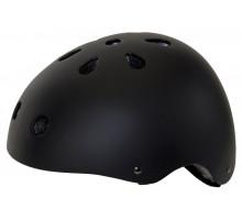 Шлем 5-731284 универс/ВМХ/FREESTYLE 11 отверстий,суперпрочный 58-61см матово-черный M-WAVE
