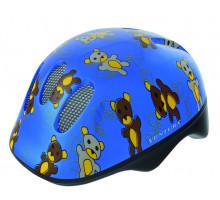 Шлем .детский/подростк. 5-734072 с сеточкой 6 отверстий 48-52см TEDDY/голубой M-WAVE