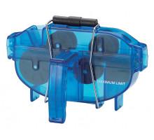 Машинка 6-14791 для чистки цепи YC-791 в 2-х плоскостях с рукояткой голубая BIKEHAND