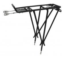 Багажник 6-150020 (5-440150) алюминиевый 24-28″ 3-х стоечный регулируемый сварной черный CD-20AC OSTAND