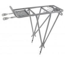 Багажник 6-150021 (5-440152) алюминиевый 24-28″ 3-х стоечный регулируемый сварной серебристый CD-20AC OSTAND
